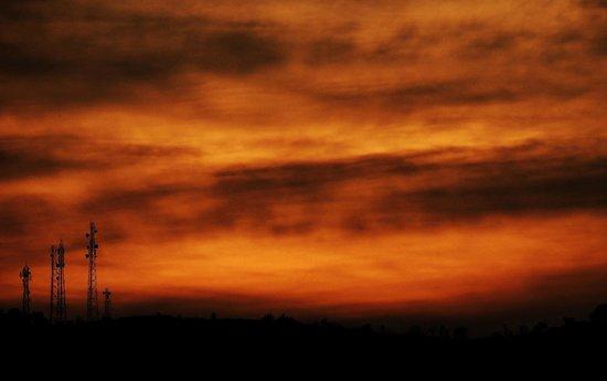 Club Mahindra Naukuchiatal: Sunset