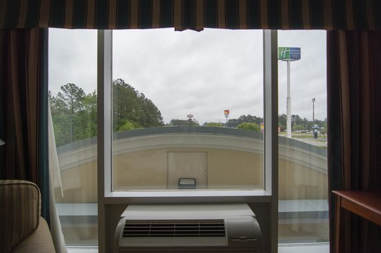 Holiday Inn Express Walterboro: View from room 316