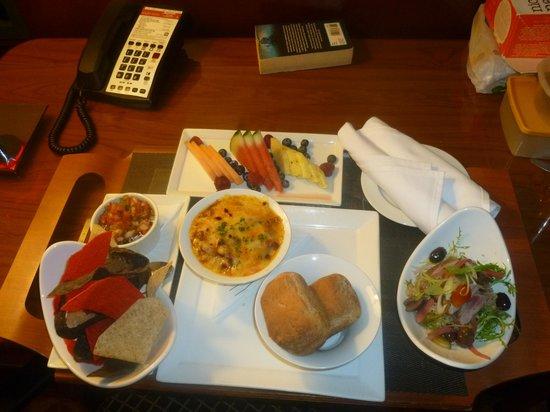 Ottawa Marriott Hotel : My specially prepared gluten free food
