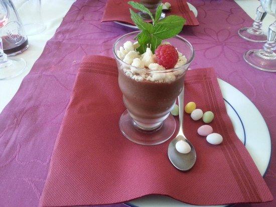 Vent d'Est : mousse au chocolat aromatique