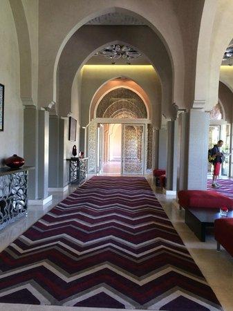 Pullman Marrakech Palmeraie Resort and Spa : Réception