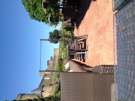Hotel du Chateau : Terrasse
