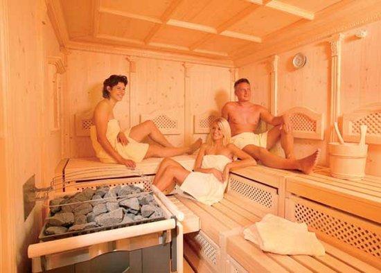 Wellness & Aparthotel Taxerhof: Finnische Sauna
