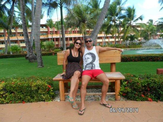 Iberostar Dominicana Hotel: En el parque del Hotel