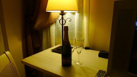 Etna Hotel: A notre arrivée...