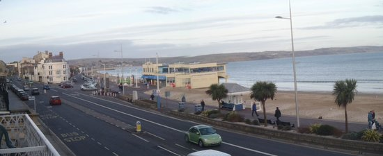 Acqua Beach Weymouth: View from balcony