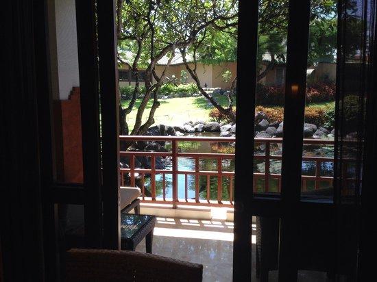 Grand Hyatt Bali: View from room