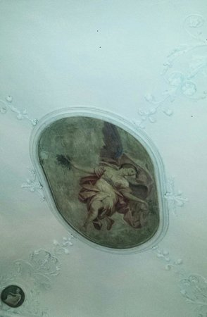 Domus Florentiae Hotel : Affresco sul soffitto