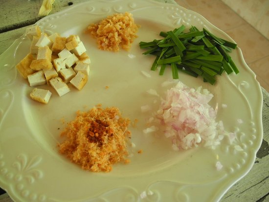 Blue Lagoon Cooking School: ingredients