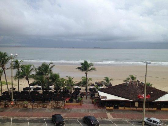 Litorânea Praia Hotel: Vista do quarto de frente para o Mar