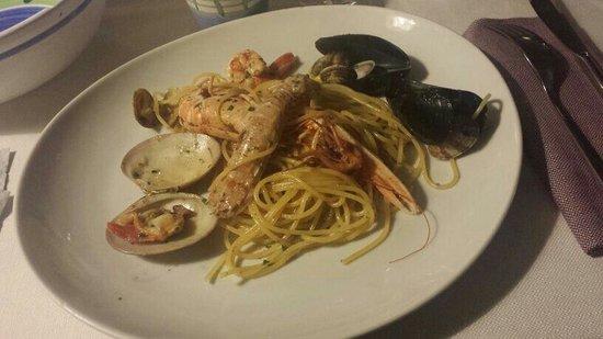 La Vigna : Spaghetti allo scoglio