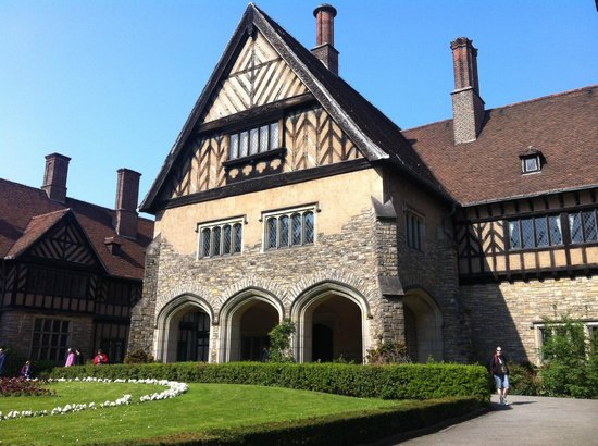 Fat Tire Tours Berlin: Cecilienhof (Potsdam Conference)