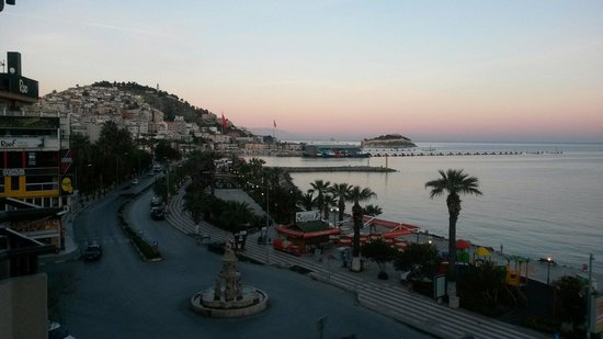 Derici Hotel: Sunrise - view from our room