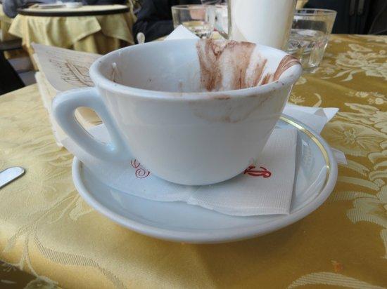 Caffe Rivoire : Tasse de chocolat