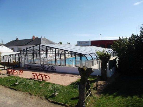 Camping Sun Ocean : espace piscine couvert