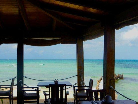Na Balam Beach Hotel : petit dej