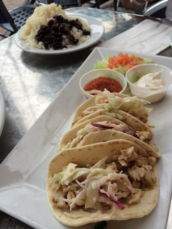 Agave Lucaya: Taco time chicken taco app