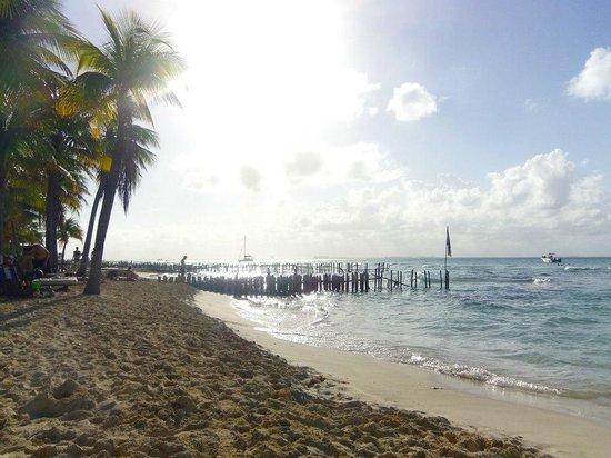 Na Balam Beach Hotel : plage