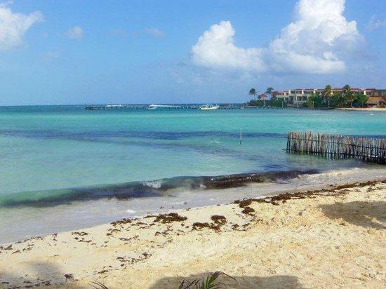 Na Balam Beach Hotel : vue