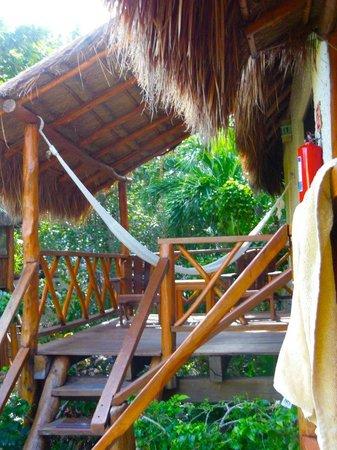 Na Balam Beach Hotel : chambre