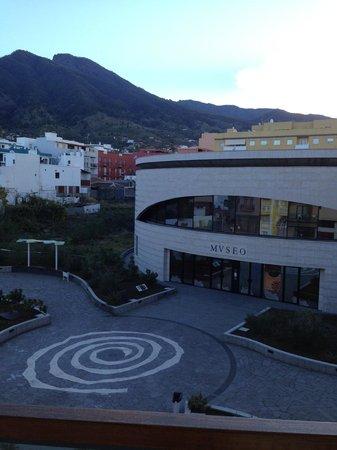Hotel Benahoare: View from balcony