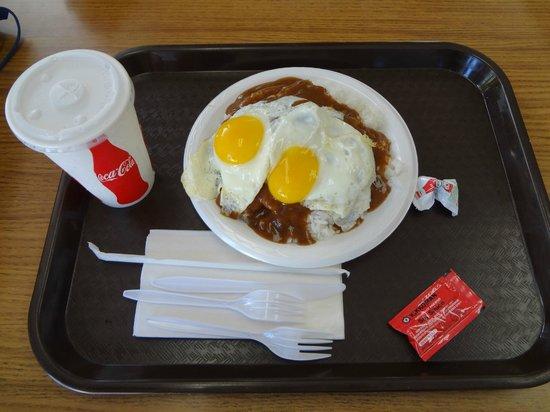 Cafe 100: ロコモコ