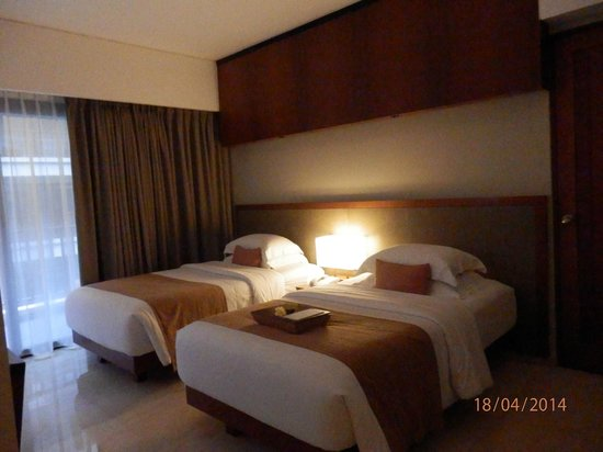 The Magani Hotel and Spa : Our room