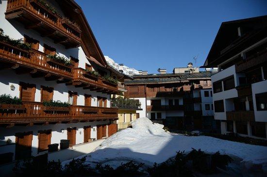 Hotel Pontejel: view from window