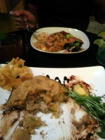 Conuco : Crab Mofongo and Seafood Mamposteao