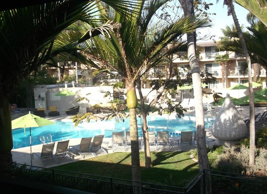 Hyatt Regency Newport Beach: View from our balcony
