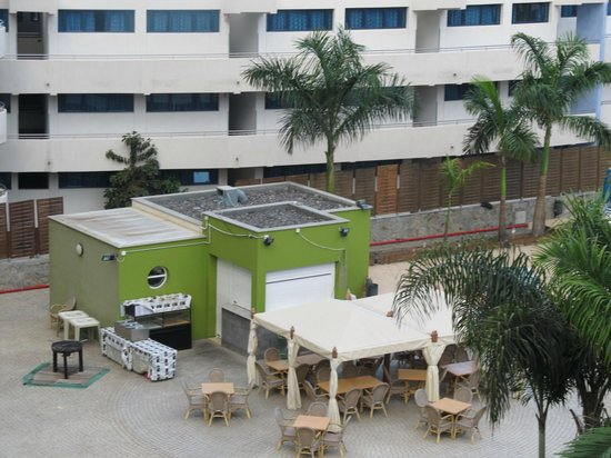 Hotel Terraza Amadores: bar area