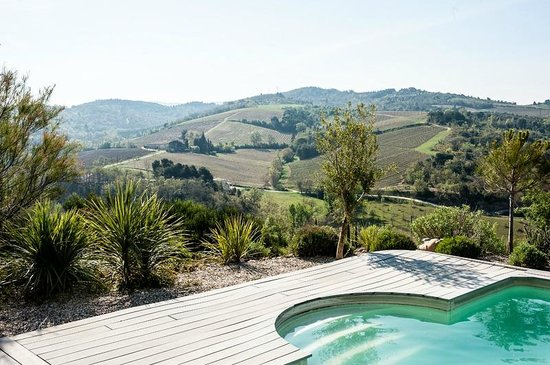 La Cortanela: View from the terrace
