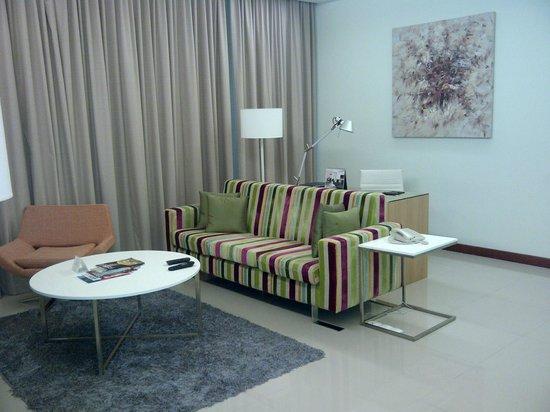 Fraser Place Kuala Lumpur : Living area