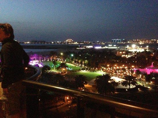 Le Royal Meridien Beach Resort & Spa: Vista dal balcone della stanza.
