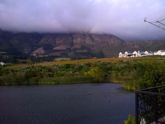 L'Ermitage Franschhoek Chateau & Villas: view from villa 10