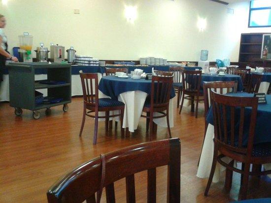Ermitage Hotel: O salão do café
