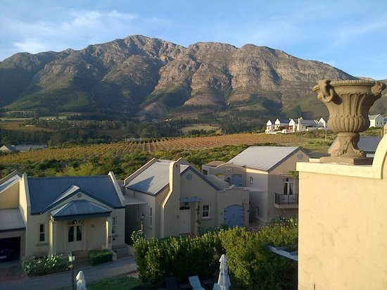 L'Ermitage Franschhoek Chateau & Villas: view from villa 21