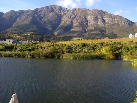 L'Ermitage Franschhoek Chateau & Villas: view from villa 12