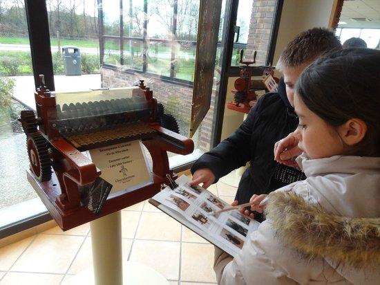 Chocolatrium Michel Cluizel : visite du musée