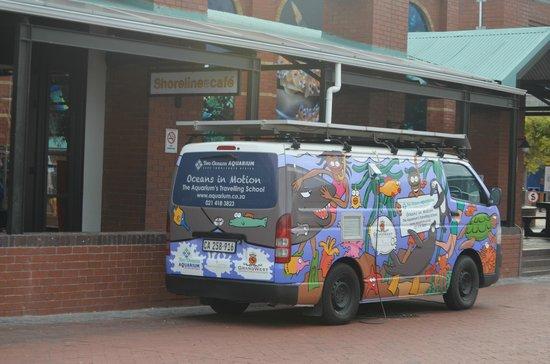 The PortsWood: O Aquarium da cidade é praticamente em frente !!! Adoramos !!!
