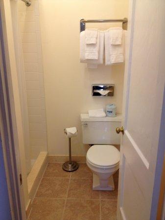 Prytania Park: Efficient bathroom