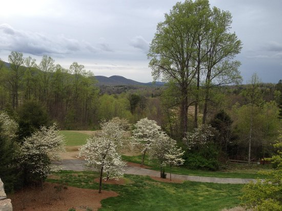 Brasstown Valley Resort & Spa : On the deck
