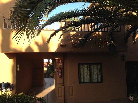 Oasis Village: Terrace upstairs