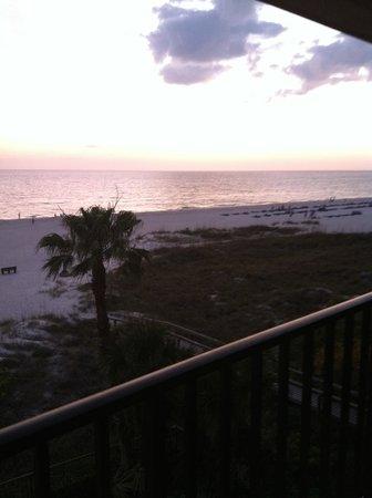 Gulf Beach Resort : View from Room