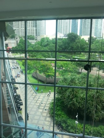 Kuala Lumpur Convention Center : View from Centre