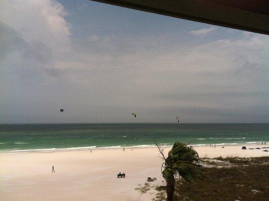 Gulf Beach Resort: View from Room