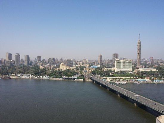 InterContinental Cairo Semiramis : Vista para o Nilo