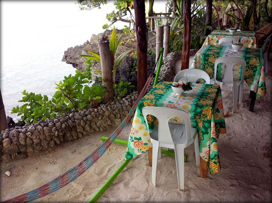 Royal Cliff Resort: Overlooking sea view while you dine