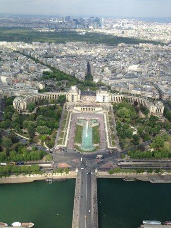 Tour Eiffel : La vista dalla sommità