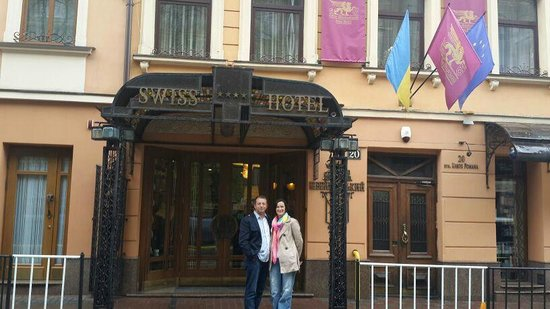 Swiss Hotel: cadde